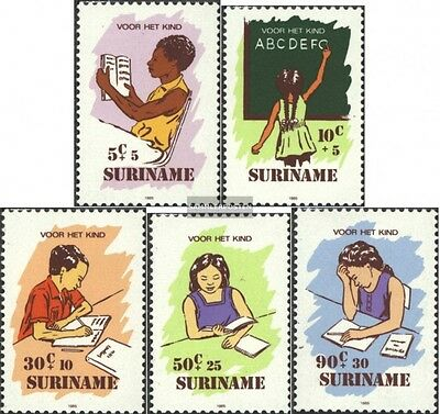 Suriname 1157-1161 (complete issue) unmounted mint / never hinged 1985 Youth