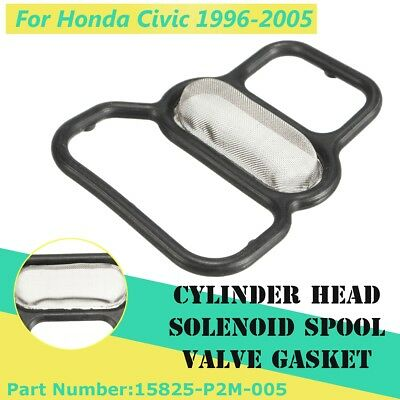 15825-P2M-005 Variable Timing Spool Solenoid Valve Filter Gasket For Honda Civic