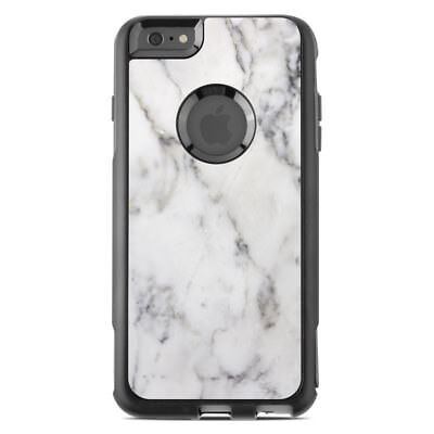 Skin for Otterbox Commuter iPhone 6 Plus - White Marble - Sticker