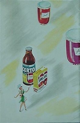 Sure-Jell, Certo Jelling Products (General Foods Corp) 1951 Booklet