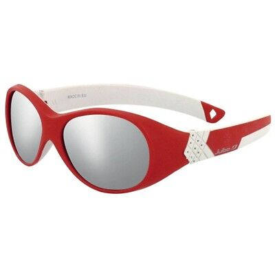 Julbo Bubble Kids Sunglasses (Spectron 4 Grey Lens Red/grey Frame)