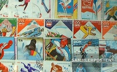 Motives 250 different Winter Olympics stamps