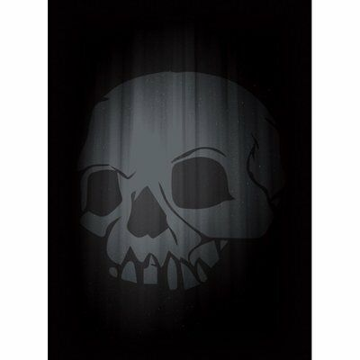 LEGION SUPPLIES - Standard Deck Protector Sleeves - SUPER ICONIC SKULL BLACK (50