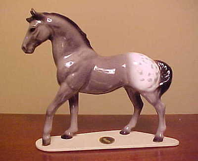 "RETIRED Hagen-Renaker Specialty #3267 Appaloosa Stallion ""Orion"" - COOL SPOTS!"