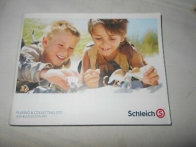 2011 Schleich Collector Booklet; book, catalog/toy/animals