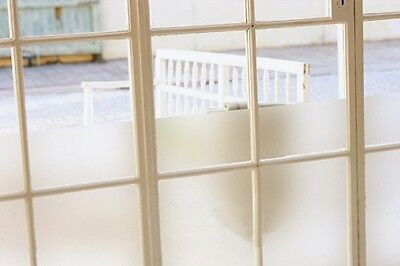 90cm x1m Sandblast Privacy Frosted Frosting Removable Glass Window Film 9022