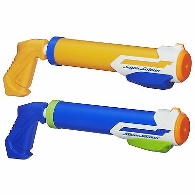 Brand New NERF Super Soaker TIDAL TUBE Blaster ~ Water Pistol 2 Pack