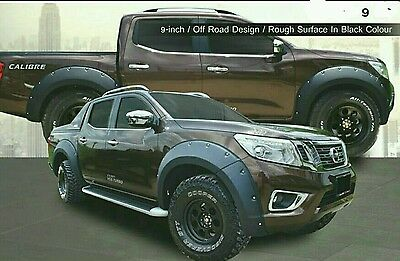 Nissan Navara NP300 ABS plastic wide wheel arch/extender/guard/flares