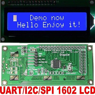 SERIAL/PARALLEL 12864 128X64 Dots Graphic LCD for Arduino