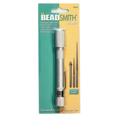 Beadsmith Economy Diamond-Tip Bead Reamer Set * Jewelry Making Tool
