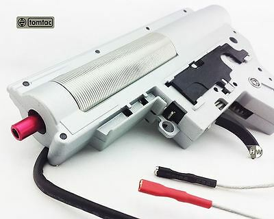 Airsoft Aeg 8Mm Gearbox M Series V2 Rear Wire 13:1 Aps Quick Release Tomtac