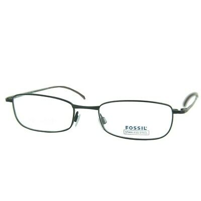 Fossil Brille Brillengestell Coco Palm silber OF1069040 NEU Bm6KqSFG