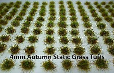 120 x 4mm Static Grass Tufts Self Adhesive - Chaos Marines 40K Basing Terrain