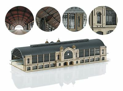 Marklin Z Scale 89792 Train Station Building Kit Large *NEW $0 SHIPPING