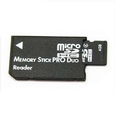 4GB Micro SD Memory Card with MS PRO DUO Adaptor & Reader Digital Cameras PSP
