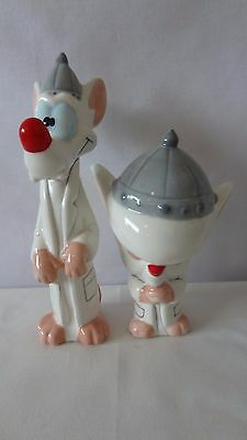 Animaniacs 1996 Warner Brothers Pinky And The Brain Salt And Pepper #H578.