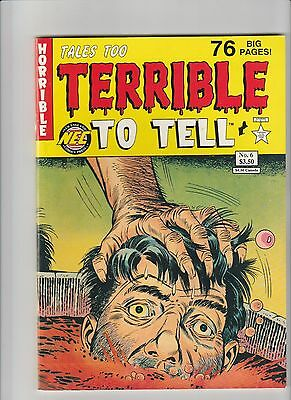 Tales Too Terrible To Tell #6 NM  1992 NEC Comic