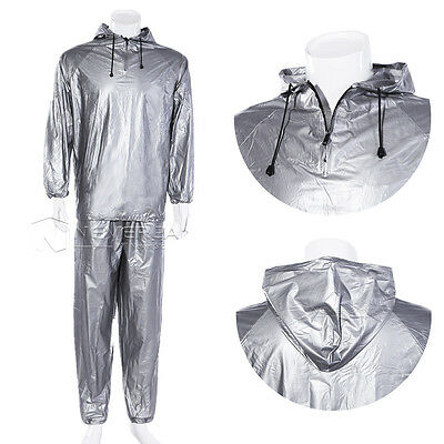 Unisex Fitness Gym Workout Yoga Exercise Sauna Sweat Suit Slim Down Weight Loss