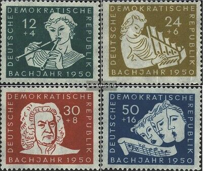 DDR 256-259 (complete issue) Bedarfsstempel used 1950 200.Death