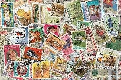 papua-Guinea 50 different stamps