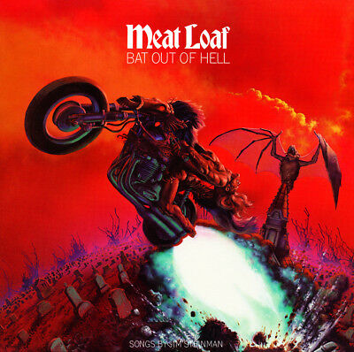 """Album Covers - Meatloaf - Bat Out of Hell (1977) Album Poster 24"""" x 24"""""""
