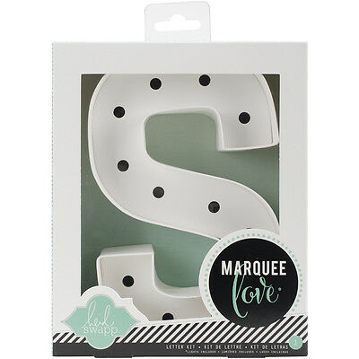 """""""Heidi Swapp Marquee Love Letters, Numbers & Shapes 8.5""""""""-S"""""""