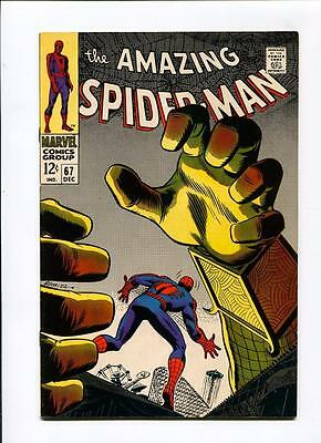 MARVEL Comics VFN/Nmint 9.2 SPIDER-MAN 67 1969 AMAZING spiderman