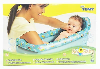 Tomy 71726 Be Baby Inflatable Travel Bath - from Birth 0+ Months