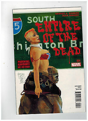 GEORGE ROMERO'S EMPIRE OF THE DEAD: ACT ONE #4 1st Printing / 2014 Marvel Comics