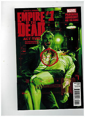 GEORGE ROMERO'S EMPIRE OF THE DEAD: ACT TWO #1 1st Printing / 2014 Marvel Comics