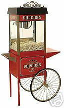 Home Theater Commercial Popcorn Machine Popper Maker Street Vendor 4 11040/30010