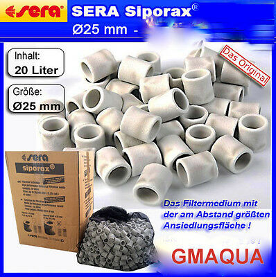 Sera Siporax Pond 25mm POND ,PERFECT FOR  MARINE  GENUINE SERA  PRODUCT
