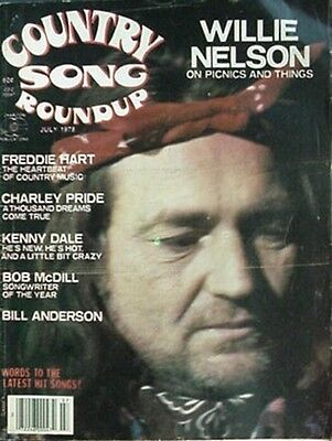 1978 Country Song Roundup Magazine (Willie Nelson Cvr, Charley Pride +