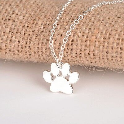 Paws dog  pendant mixed breed dog awareness necklace dog collectible