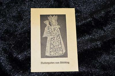 """OLD nice german rare Holycards from 1903""""H5107 black madonna from altötting"""