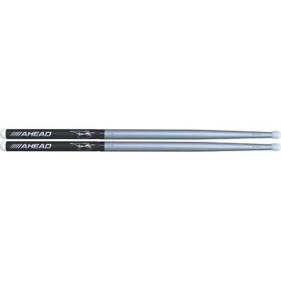 "Ahead 16"" Tommy Lee Studio Silver Drum Sticks - TS-Ahead  Free Shipping in USA!"