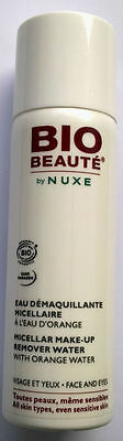"Nuxe Paris Bio Beaute Eau Demaquillante Micellaire Visage ""orange"" 50 Ml Neuf"