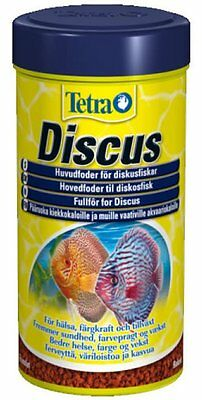 TETRA DISCUS COMPLETE TROPICAL GRANULE FISH TANK FOOD300g/1L IN ORIGINAL TUB