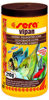 Sera  Vipan -  Flake food for ornamental fish -1000ml/210g • EUR 19,63