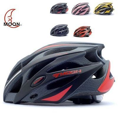 MOON Adult Bicycle Outdoor Cycling Helmet with Snap-on Visor Use Road Mountain