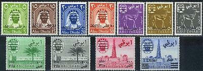 Abu Dhabi 1966 ** Mi.15/25 Freimarken Definitives w/ovp