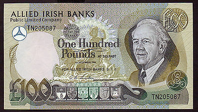 SPECIAL 1988  £100 ALLIED IRISH BANKS     Unc