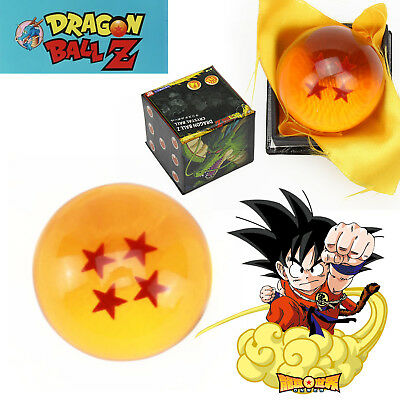 4 Star 4cm JP Anime Figure Crystal Ball Dragonball Box Gift Cosplay Collection