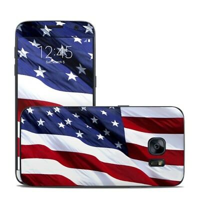 Galaxy S7 Skin - Patriotic by Flags - Sticker Decal