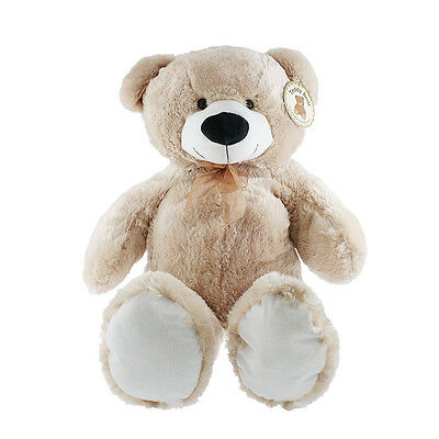 Large Teddy Bear Xxl Giant Soft Plush Toy Kids Huge Cuddly 100Cm Valentines Gift
