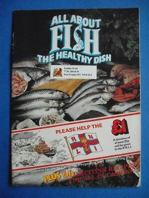 All About Fish Cookbook Healthy Dish Royal National Lifeboat Institution Recipes