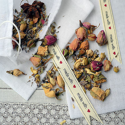 1 Muslin Bag To Fill With Your Mix Of Your Fragrant Seeds & Scents Pot Pourri