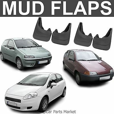 Mud Flaps Splash guard for Fiat Punto mudguard set of 4x front and rear
