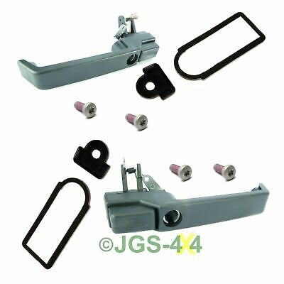 Land Rover Defender Push Button Door Handle Kit - MXC7651 MXC7652