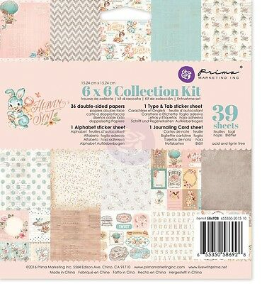 "Prima Marketing Inc: Heaven Sent Collection:6""x6"" Collection Kit"